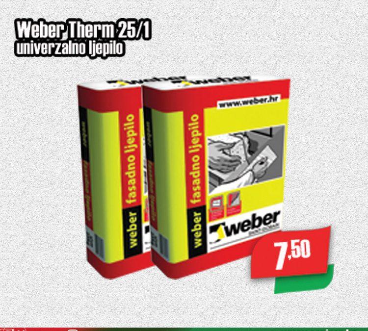 Weber Therm 25/1 univerzalno ljepilo